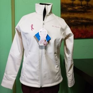 Columbia Breast Cancer Ribbon Fleece Jacket Women